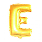 Party Gold Golden Balloon Letter E Megaloon 36cm Mylar Prop