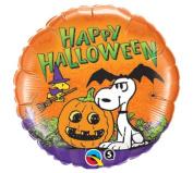Peanuts Snoopy 46cm Halloween Mylar Foil Balloon