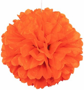 Unique Industries Pom Pom Decoration, Orange