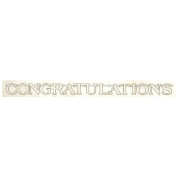 "Wedding Banner ""Congratulations"" 7.6 Ft. Banner - Each"