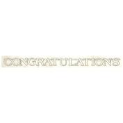 """Wedding Banner """"Congratulations"""" 7.6 Ft. Banner - Each"""