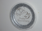 Classic Bells 25th Anniversary 23cm Plates
