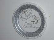 Classic Bells 25th Anniversary 23cm Plates