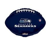 NFL Seattle Seahawks Football Logo 46cm Mylar Balloon