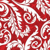 Peppermint Swirl Christmas 3-Ply Lunch Napkins 16 Pack
