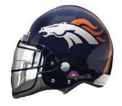 Denver Broncos Helmet 50cm SuperShape Foil Balloon