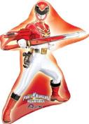 Power Ranger Mega Force Red Ranger SUPER Shape Balloon