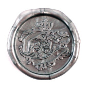 French Document Seal Flexible Wax Seals - Silver