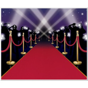 Red Carpet Insta-Mural Party Accessory (1 count)