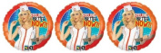 3 Sexy Nurse - Feel Better Now 46cm Mylar Balloon - Multi Pack of 3 Balloons