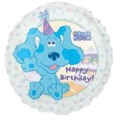 "46cm Blues Clues Nick Jr ""Happy Birthday"" Balloon"