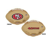 NFL San Francisco 49ers Football Logo 46cm Mylar Balloon