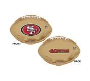 NFL San Francisco 49ers Football Logo 46cm Mylar Balloon