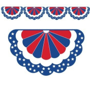 Red, White & Blue Bunting Banner 11-Foot Long