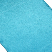 Koyal Wholesale Satin Table Runner, 30cm by 270cm , Diamond Blue