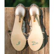 """I Do"" Pearls & Crystals Shoe Talk Decals"