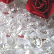 1000pcs clear colour 1Carat(7mm) Wedding Table Scatter Diamond wedding diamond confetti