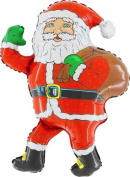 70cm Santa With Sack Shaped Foil Balloon [Toy]