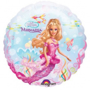 46cm Barbie Mermaidia Balloon