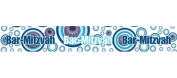 Bar Mitzvah Banner, Decoration for Jewish Barmitzvah Party