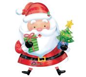 Santa Claus 90cm Mylar Balloon