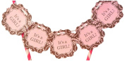 Bella Cupcake Couture It's a Girl Itty Bitty Banner