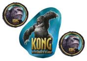 King Kong Balloon Bouquet - 3 Foil Balloons