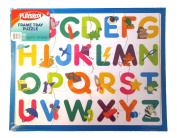 PLAYSKOOL 36cm x 28cm 12 Piece Letter Puzzle With Frame Tray Great Gift!