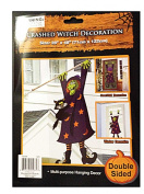 Crashed Witch Wall or Door Multi-purpose Hanging Decor
