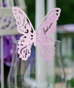Laser Expressions Butterfly Die Cut Card Standard Paper - White