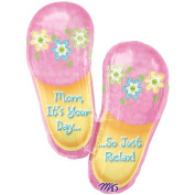 Relax Mom Slippers Super Shape Foil Balloon
