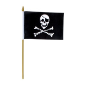 Rayon Skull Flags (1 dz)