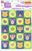 Disney Winnie the Pooh Pastel Colour Scrapbook Stickers
