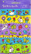 Spring Bunnies Bugs and Butterflies Scrapbook Stickers