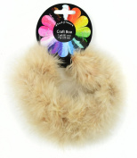 Touch of Nature 1-Piece Feather Marabou Craft Boa for Arts and Crafts, 1-Yard, Tamarind