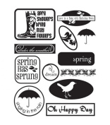Autumn Leaves(R) Stampology Clear Stamps - Wellies N Brellas