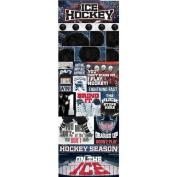 Reminisce Real Sports Hockey Graphic Sticker Sheet