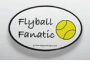 Flyball Fanatic Sticker