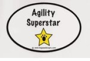 Agility Superstar Sticker