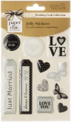 Grant Studios Paper Chic Wedding Jelly Stickers