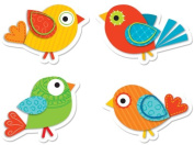 Carson Dellosa Boho Birds Shape Stickers