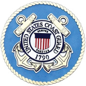 Uniformed U.S. Coast Guard Emblem Die Cut