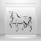 Stickers Decals Horse car Boat Vehicle ATV jet-ski Garage door 0502 KR3X9