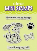 Inkadinkado Clear Mini Stamps, Wag My Tail