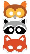 EK Success Brands Jolee's Boutique Decorative Stickers, Furry Masks Dress Ups