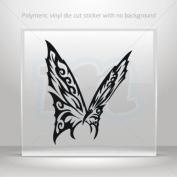 Decal Sticker Butterfly Tribal car helmet window bike Garage door 0502 WXR23