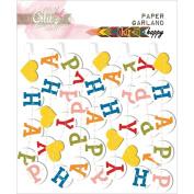 Colour Me Happy Paper Garland 60cm -