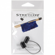 Stretchy Needle Keeper For 13cm Double Point Needles-Black