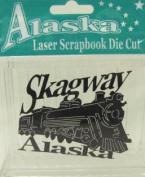Alaska Laser Scrapbooking Craft Die Cut Skagway Train