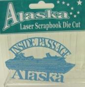 Alaska Laser Scrapbooking Craft Die Cut Side Passage Cruise Ship